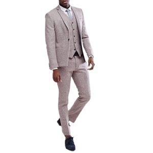 NOAK Skinny 100% Pure New Wool Jacket Harris Tweed